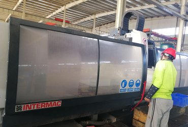 Intermac CNC	  Bystronic Insulating line